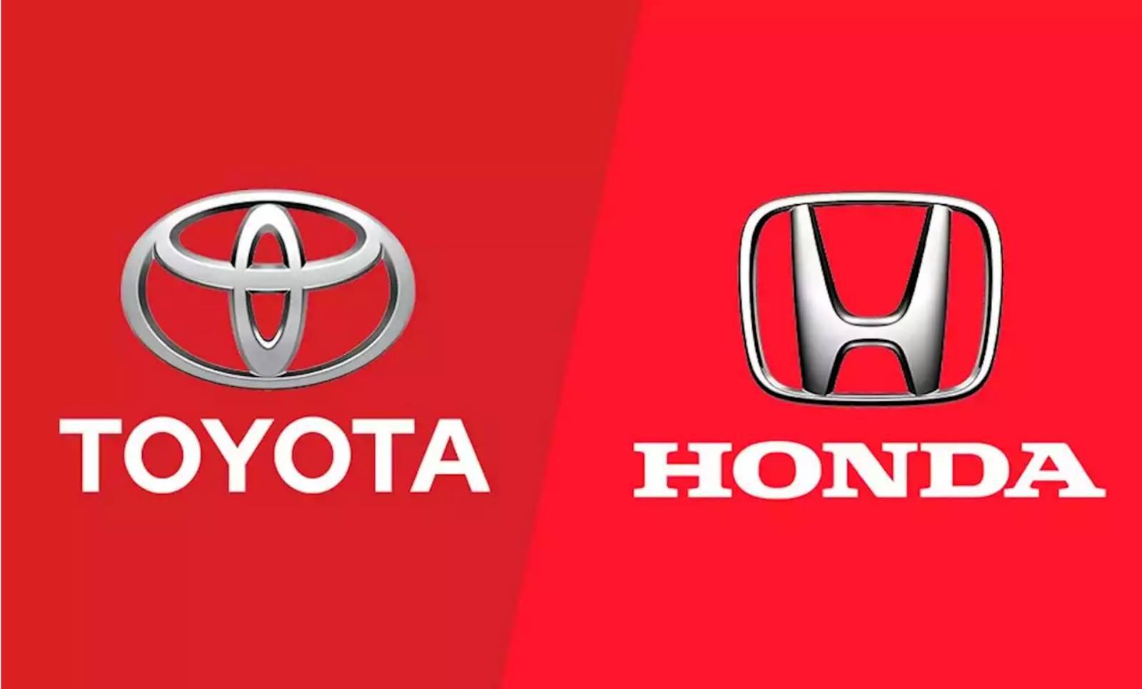 Toyota Honda recheama masini