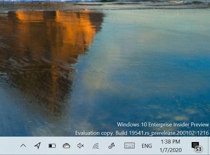 Windows 10 locatie taskbar