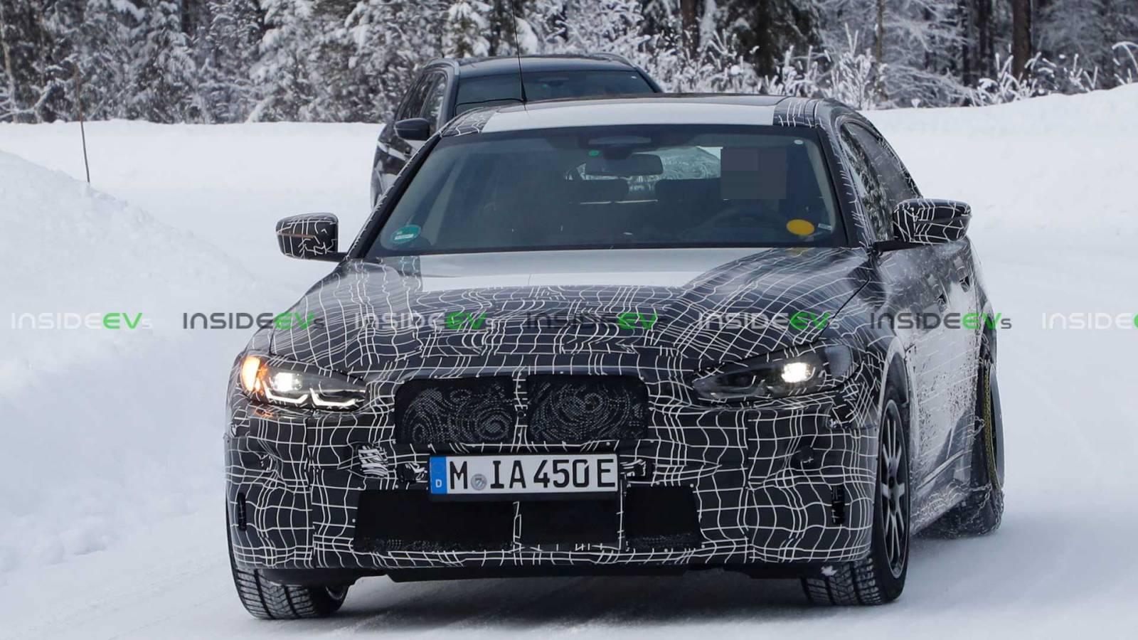 BMW i4 imagini