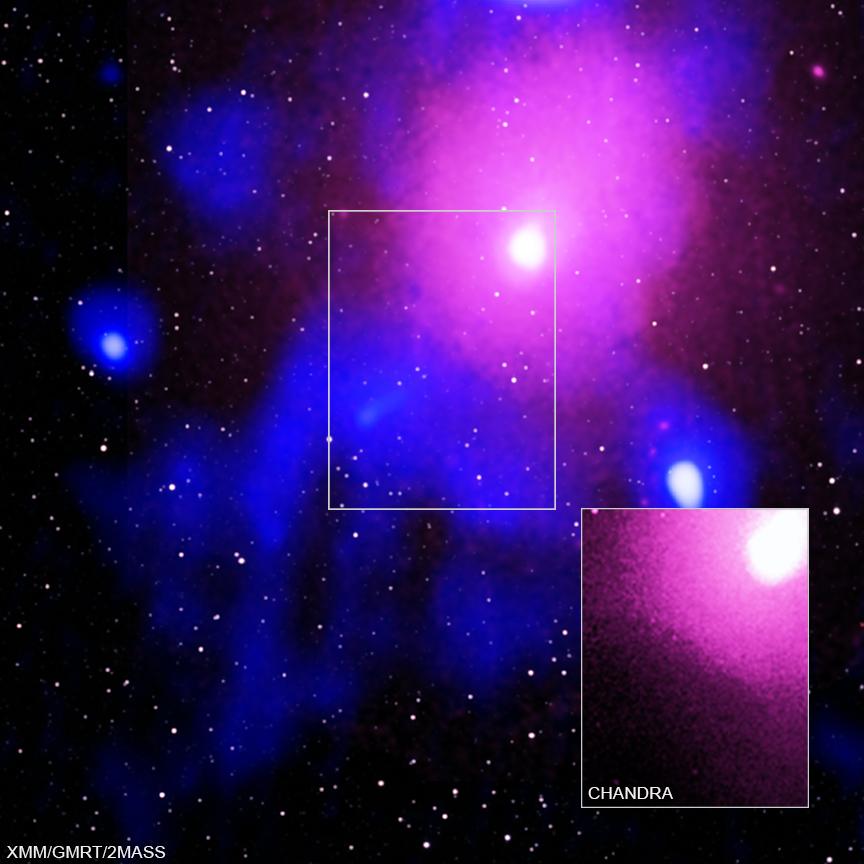 Calea lactee explozie univers