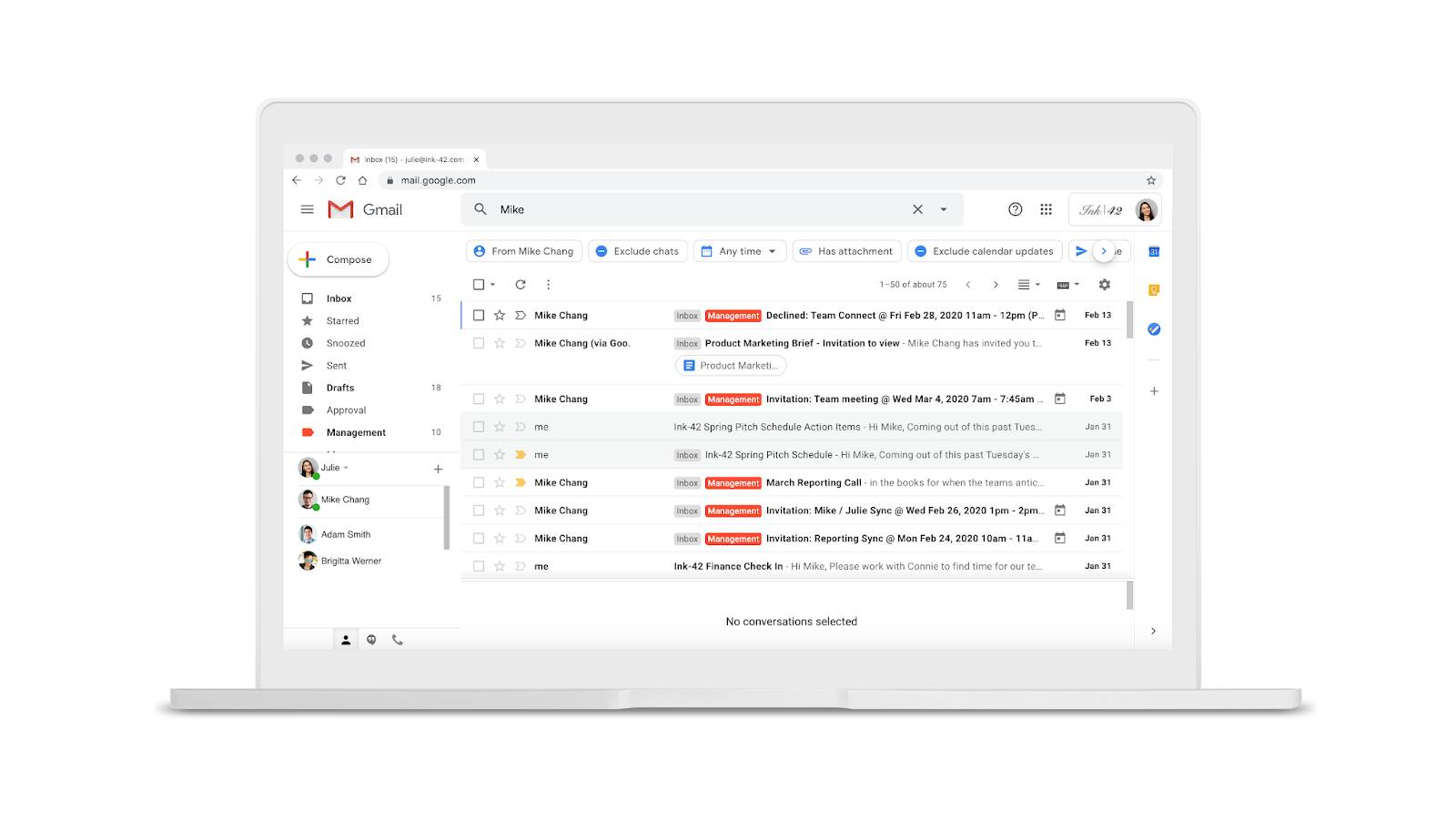 Gmail filtre cautari