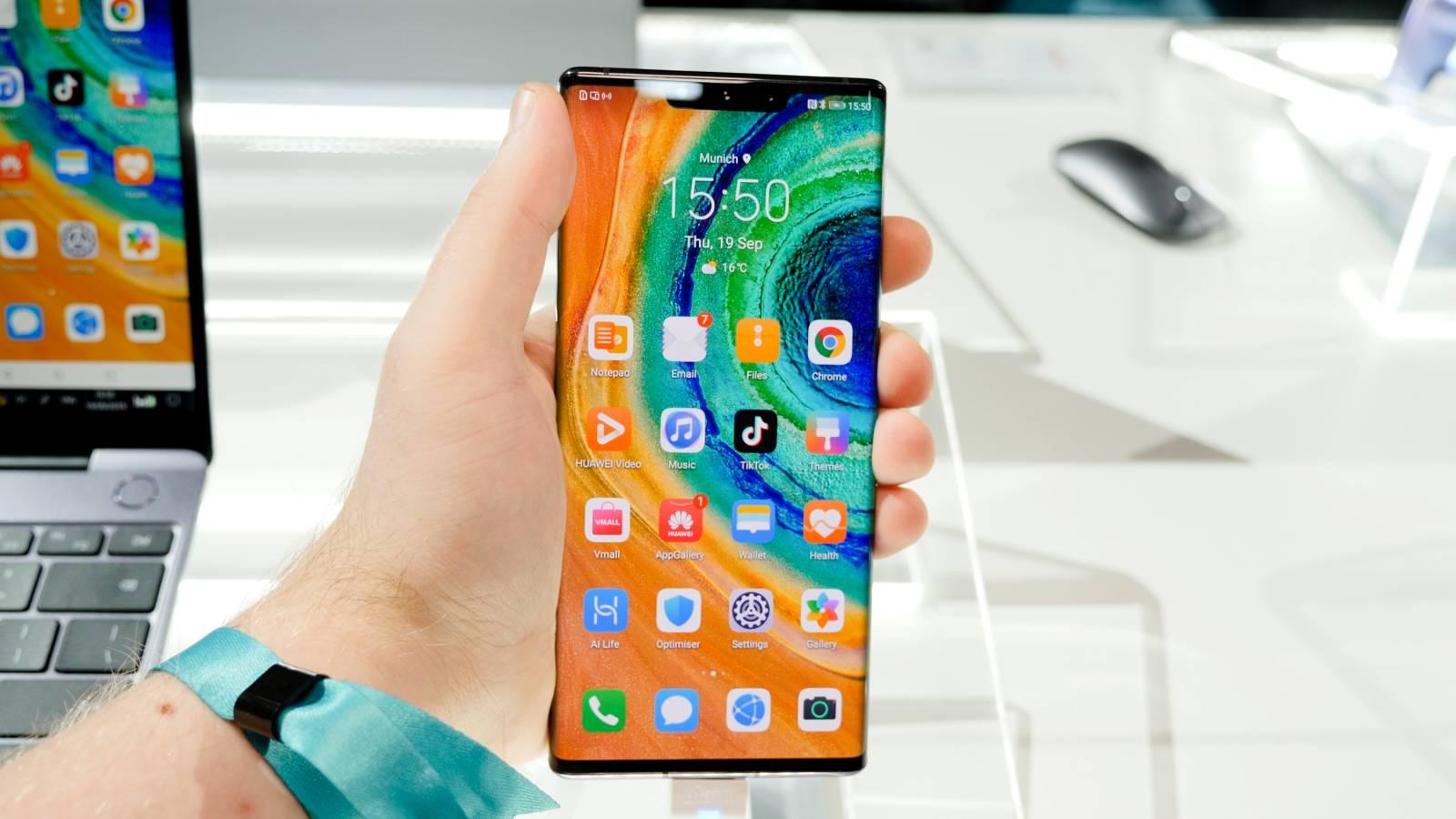 Huawei MATE 40 Pro blocat