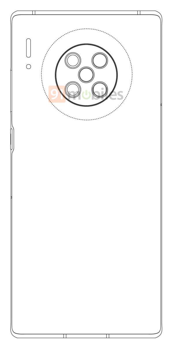 Huawei MATE 40 Pro camera penta