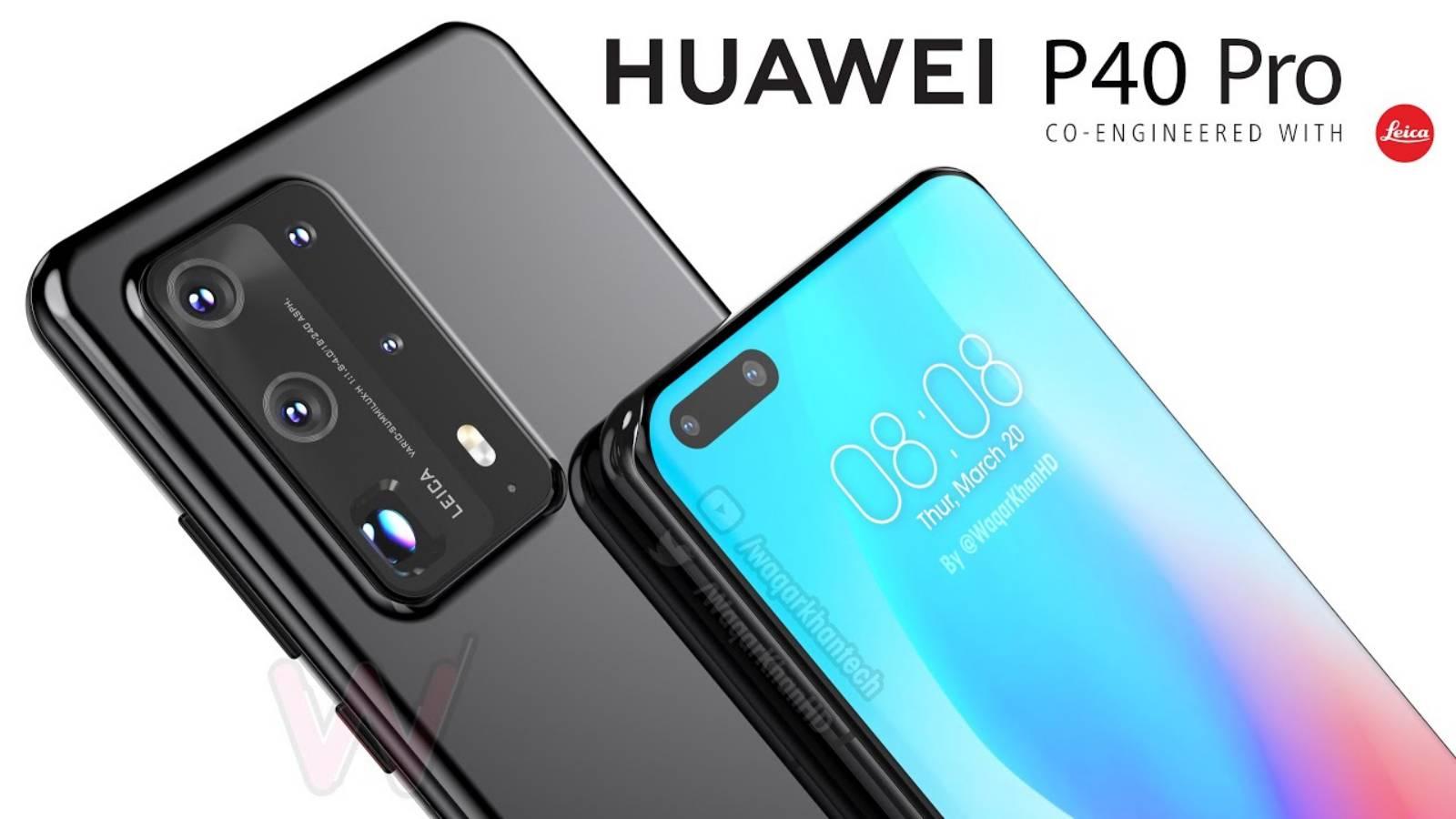 Huawei P40 Pro night mode