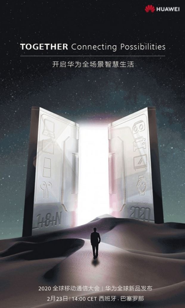 Huawei invitatie conferinta telefoane noi