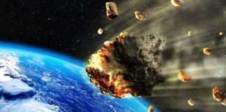 NASA continent asteroid
