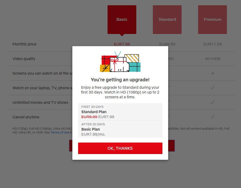 Netflix gratuit Romania