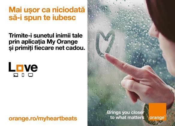 Orange INTERNET GRATUIT februarie heartbeats