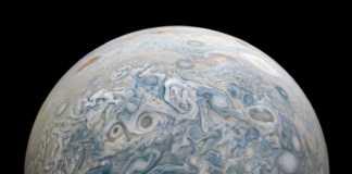 Planeta Jupiter juno