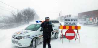 Politia Romana harta DRUMURILE INCHISE
