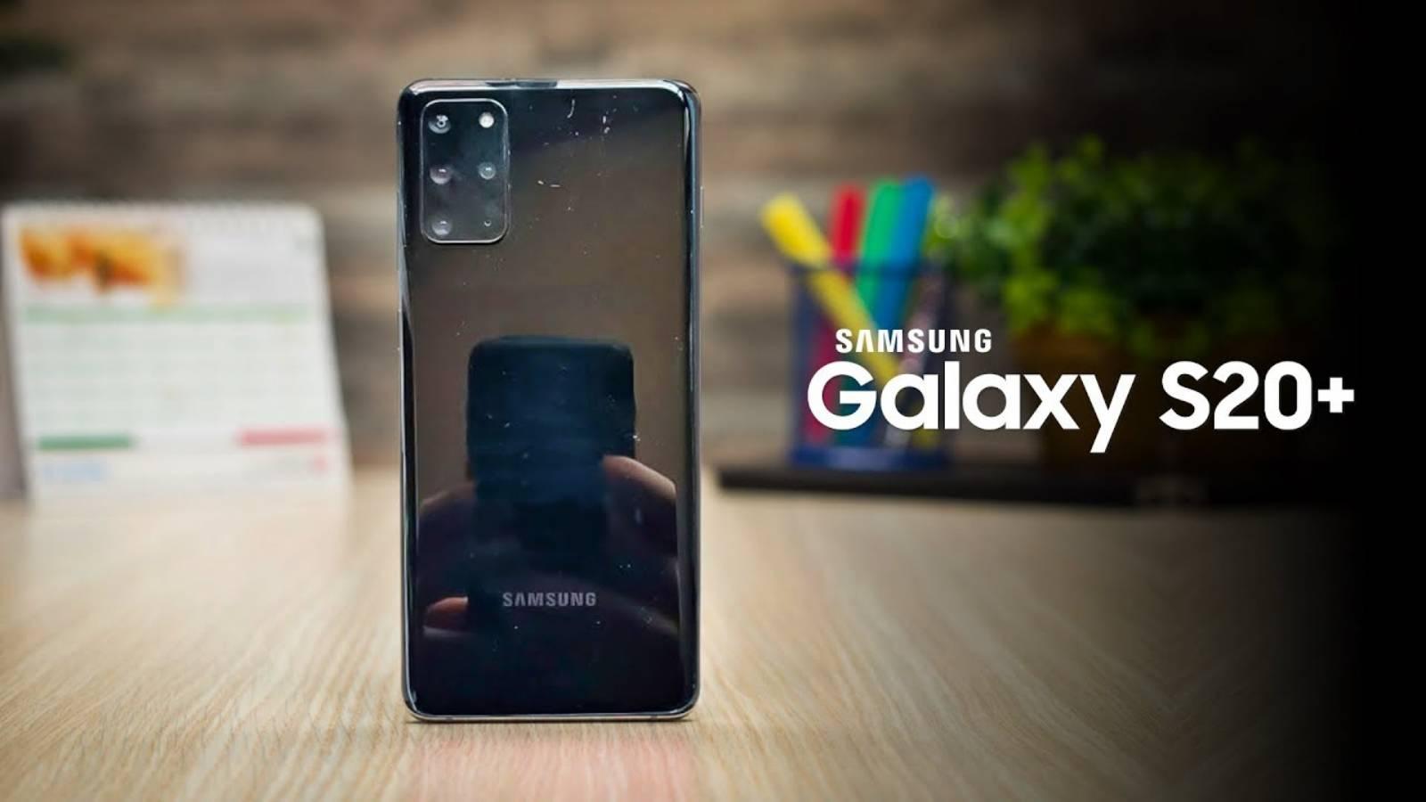 Samsung GALAXY S20 Plus super iso