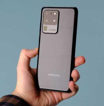 Samsung GALAXY S20 Ultra ecran