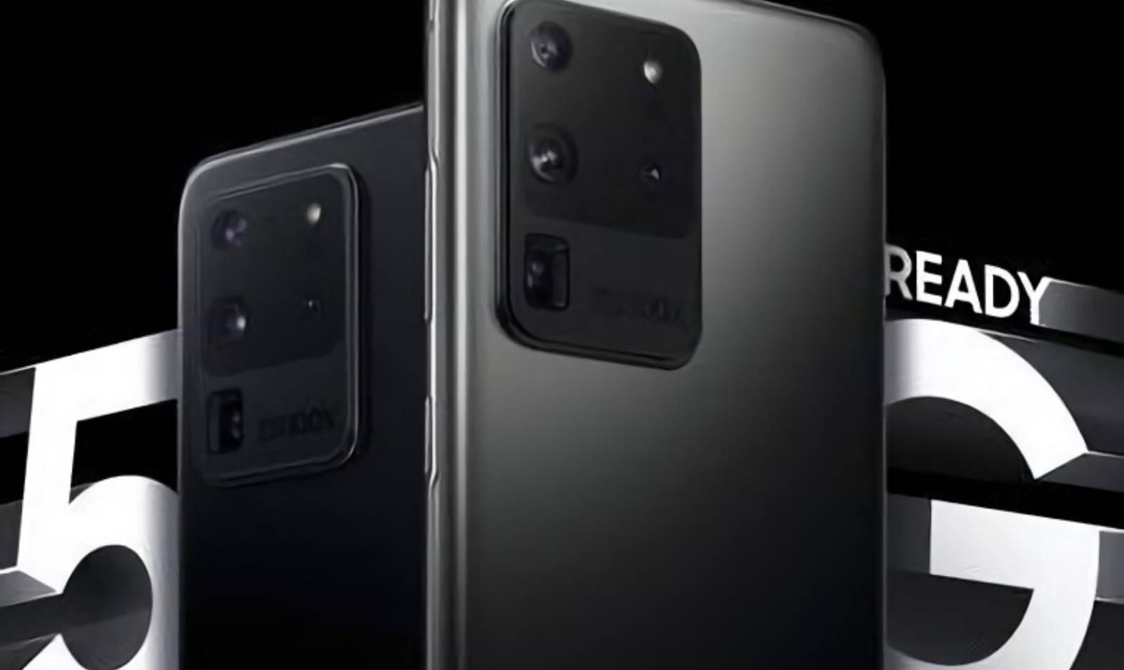 Samsung GALAXY S20 diferente