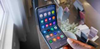 Samsung GALAXY Z Flip crapat