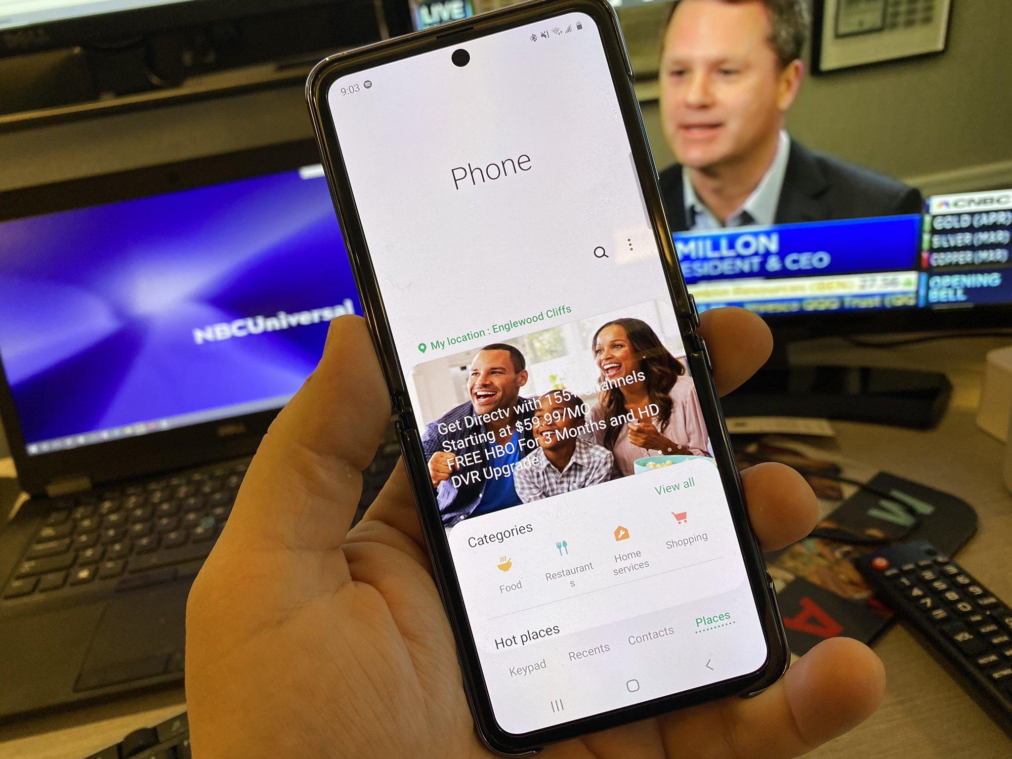 Samsung GALAXY Z Flip reclame apeluri