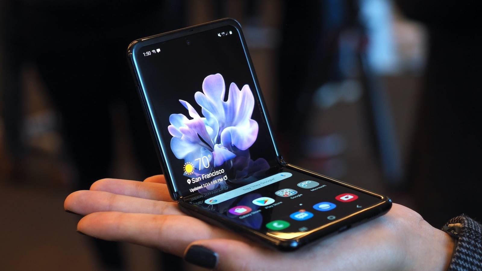 Samsung GALAXY Z Flip reclame