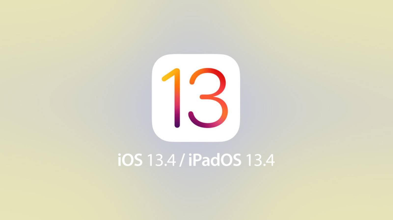 iOS 13.4 cheie masina