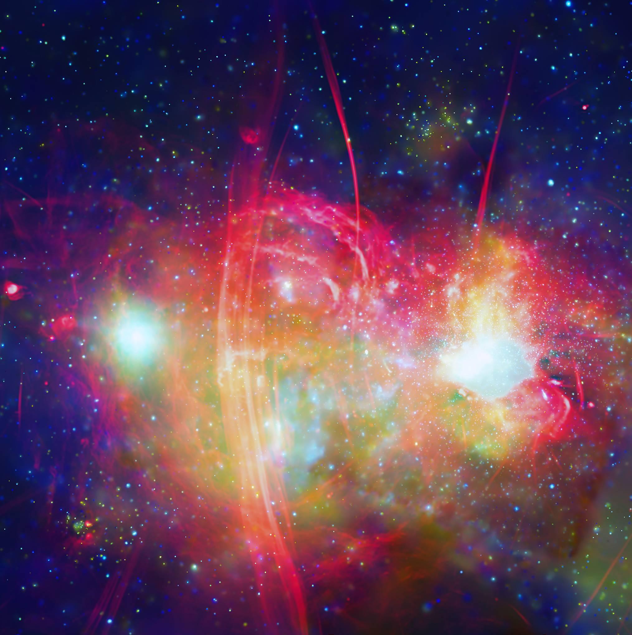 Calea Lactee centru galaxie