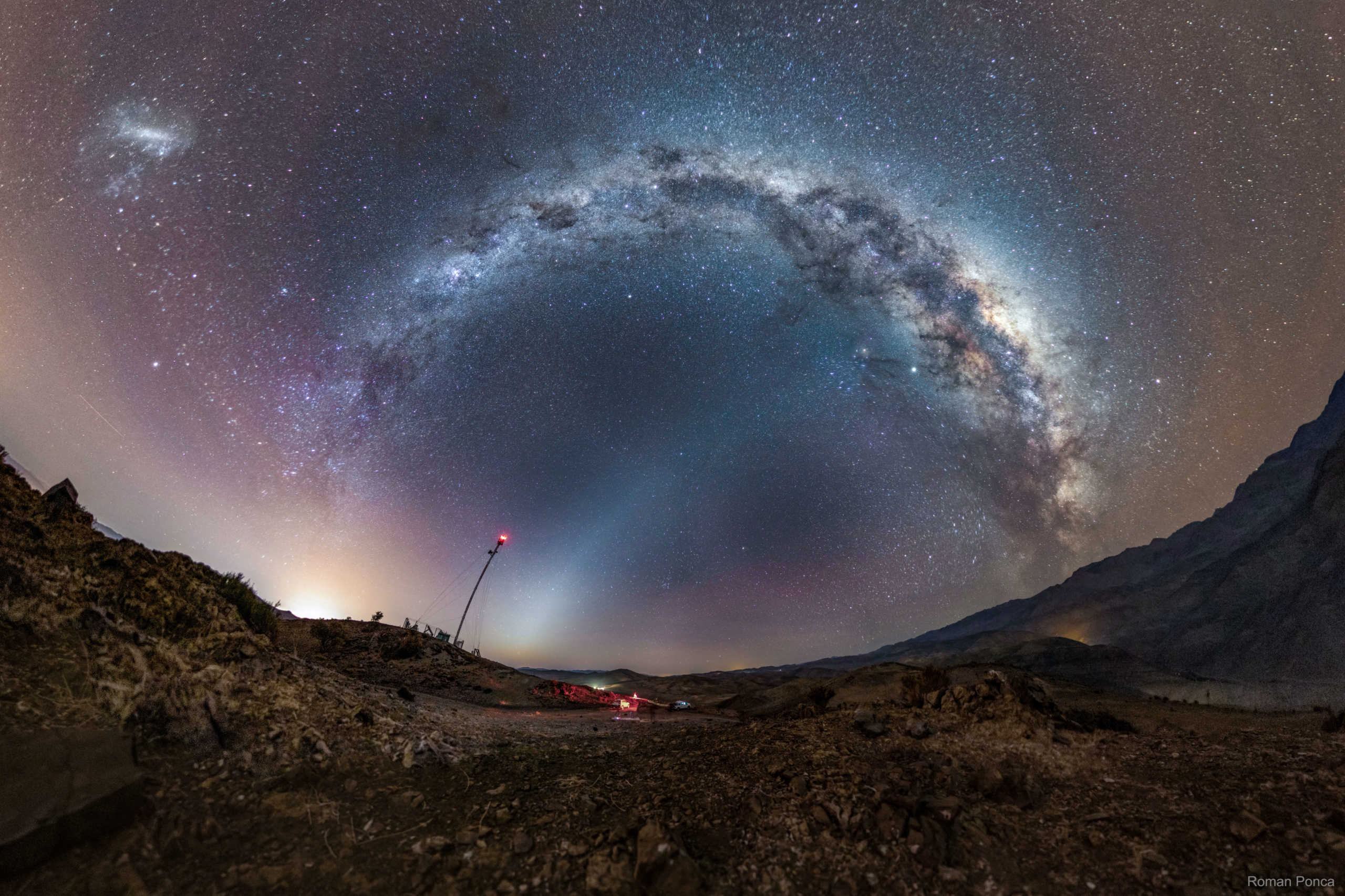 Calea Lactee zodiac imagine