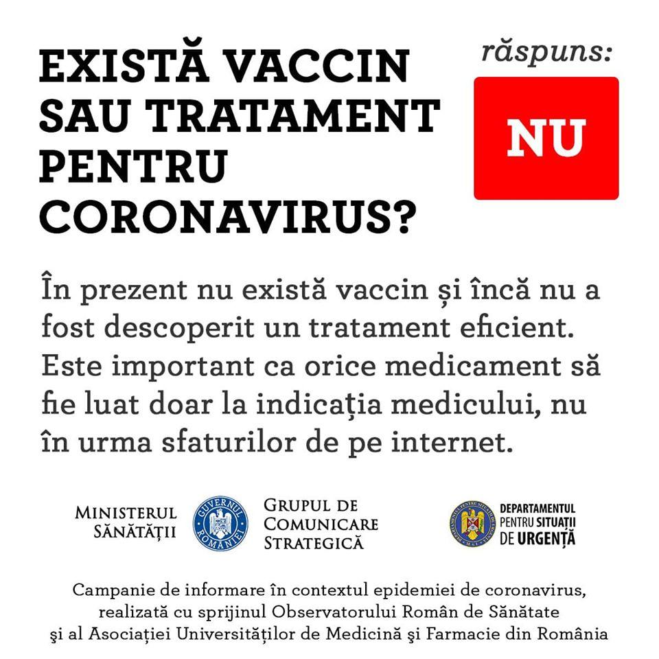 Coronavirus Romania vaccin dsu
