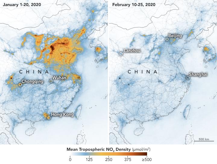 Coronavirus poluare china