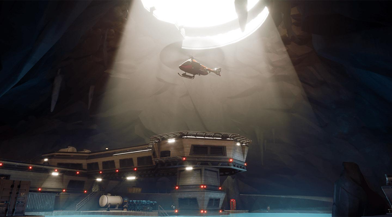 Fortnite elicoptere transport