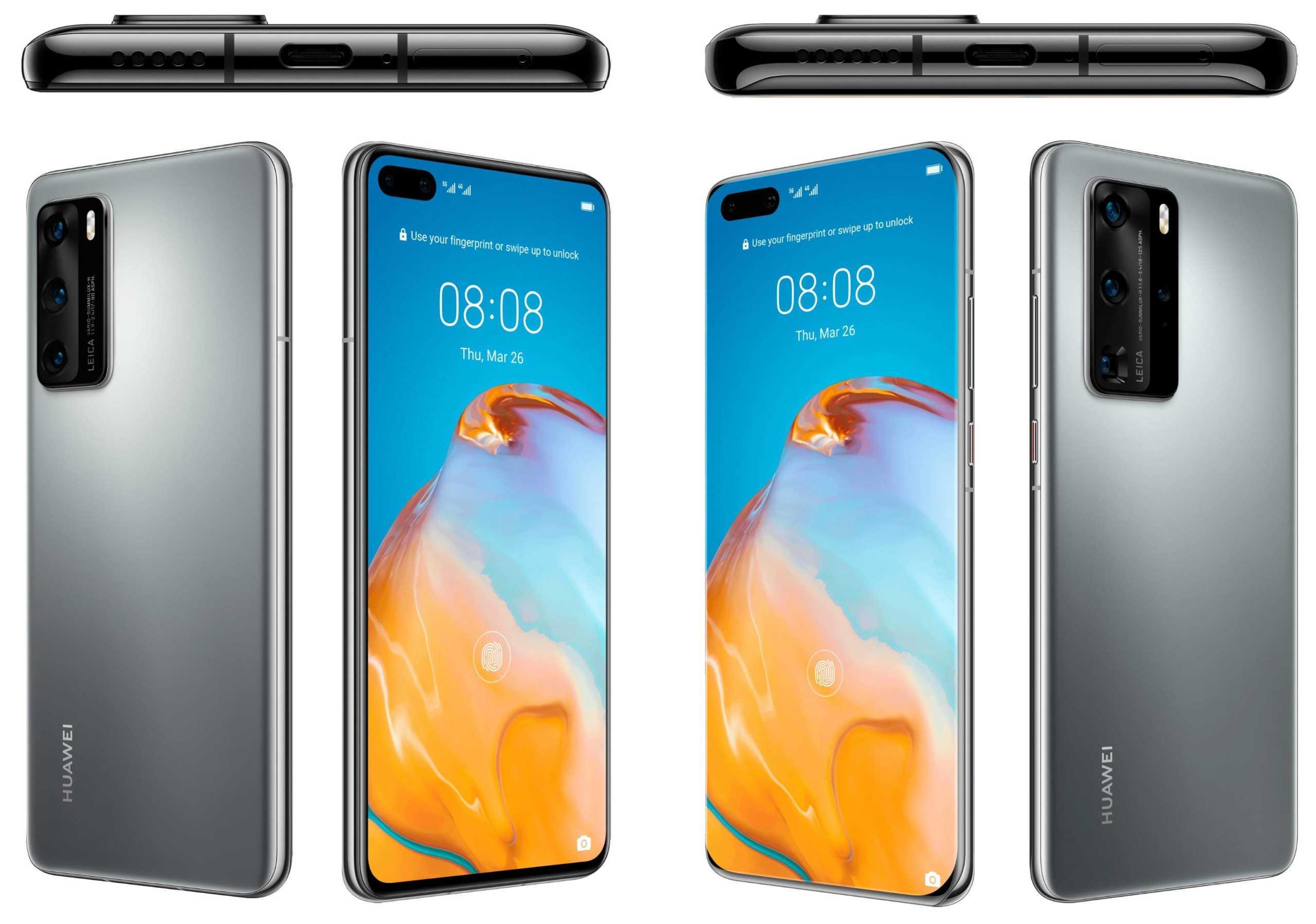 Huawei P40 Pro detalii P40 telefoane