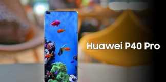 Huawei P40 Pro ecran