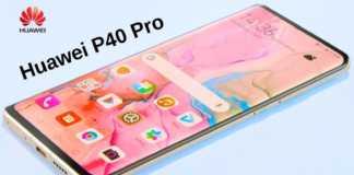 Huawei P40 Pro frontal