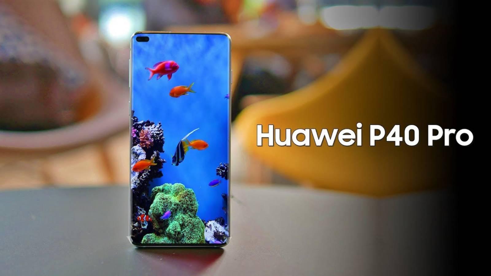 Huawei P40 Pro senzor