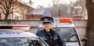 Politia Romana mesaj autostrada