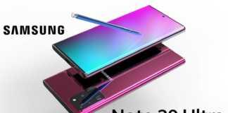 Samsung GALAXY Note 20 arata