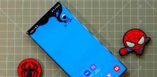 Samsung GALAXY Note 20 spatiu