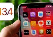 iOS 13.4 24 martie