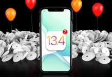 iOS 13.4 GM Noutati