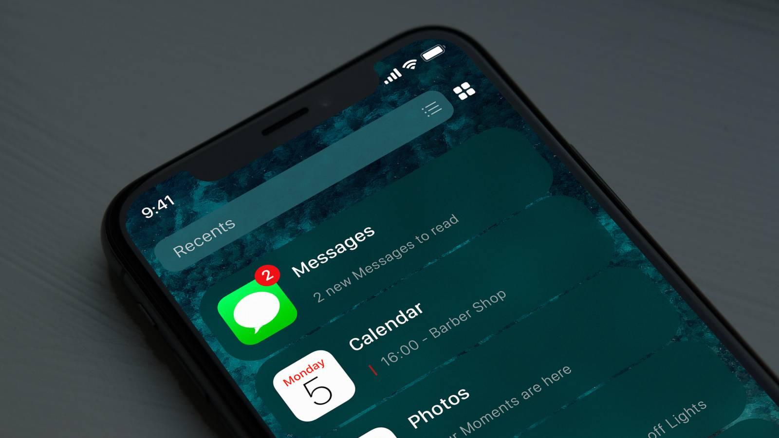 iOS 14 concept aplicatii