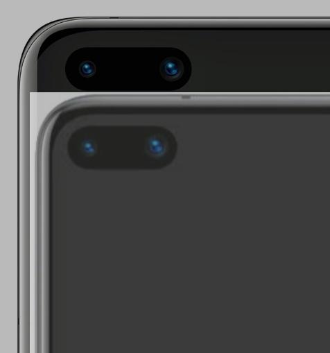 imaginea Huawei P40 Pro ecran