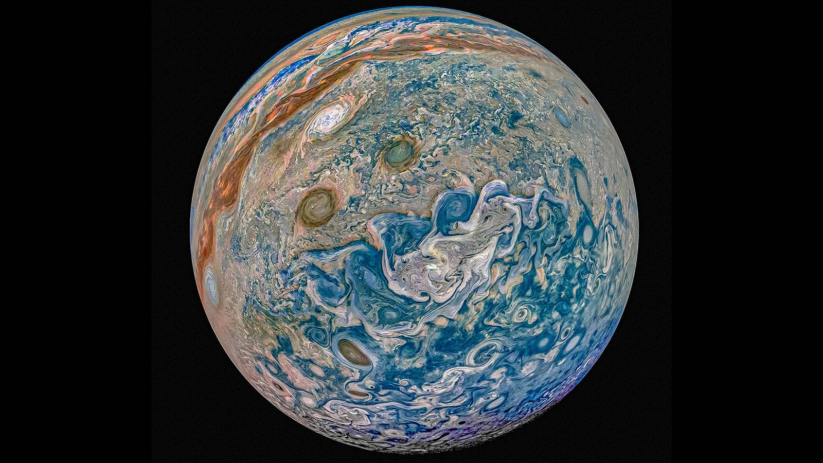 planeta jupiter anticiclon