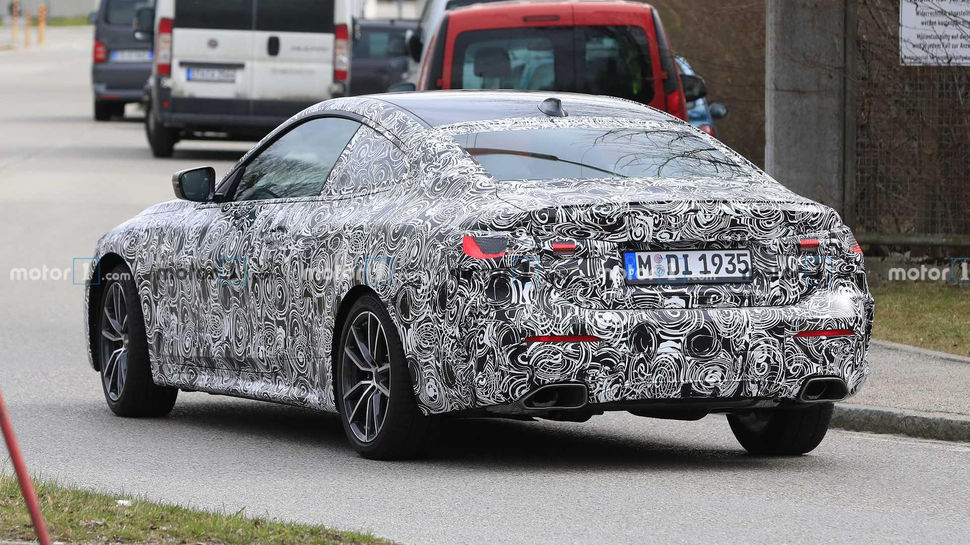 BMW Seria 4 Imagini spion coupe