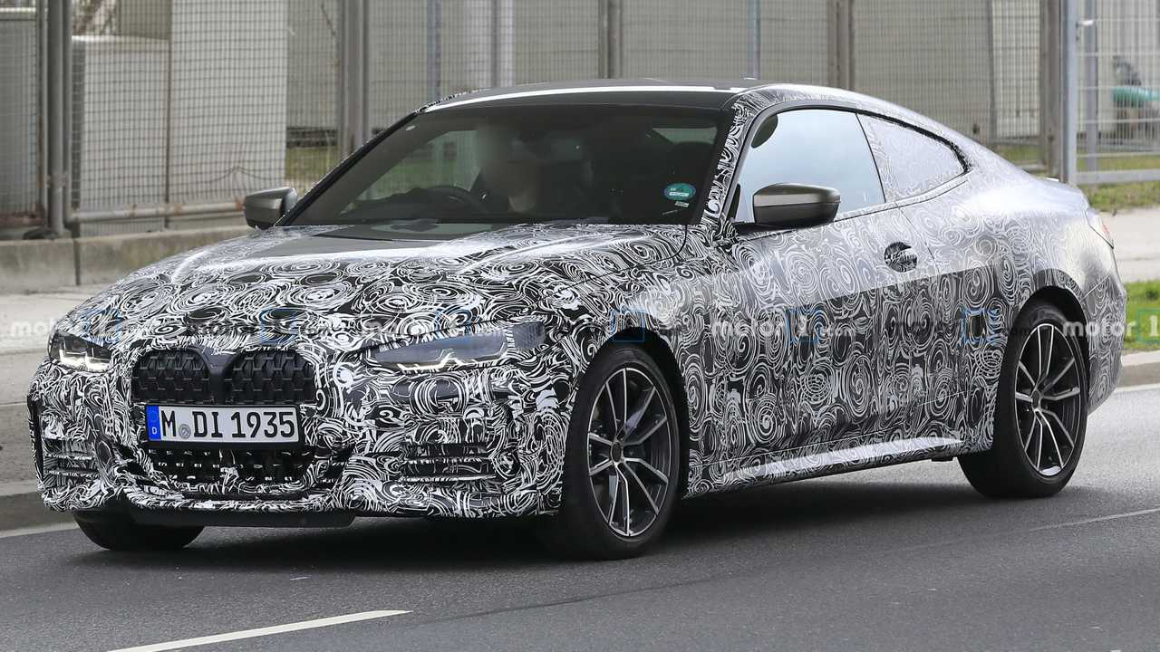 BMW Seria 4 imagini spion