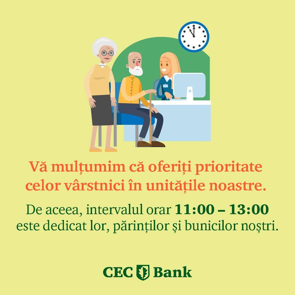 CEC Bank varstnici program