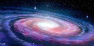 Calea Lactee nebula