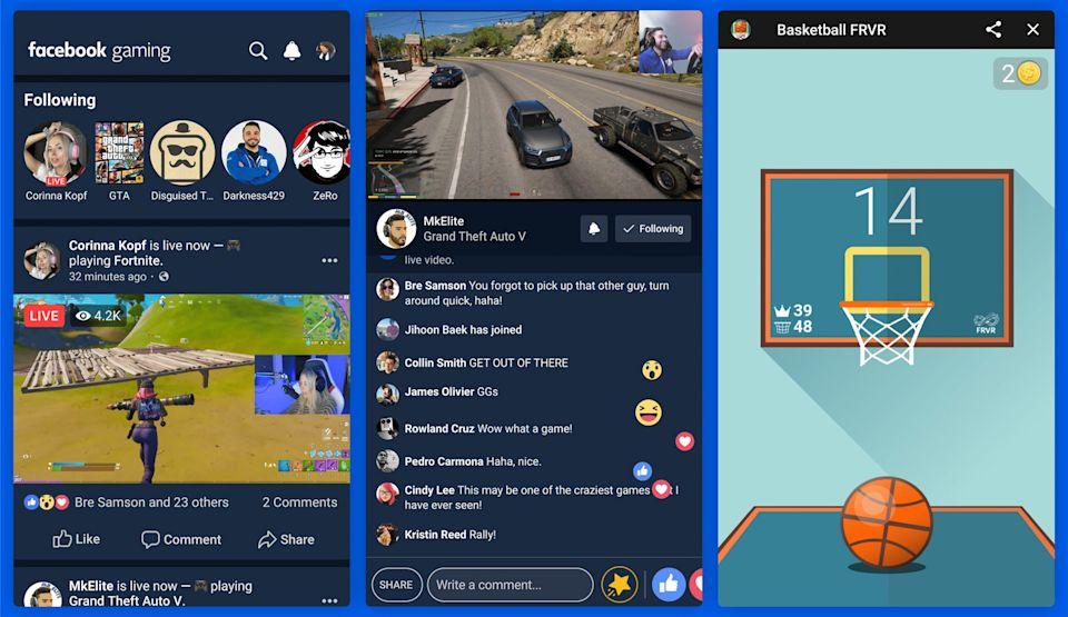 Facebook aplicatie jocuri android