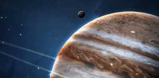 Planeta Jupiter galaxie