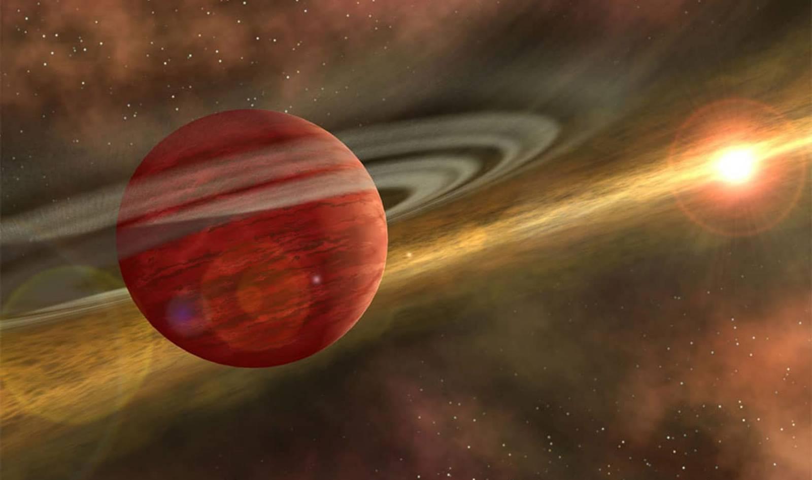 Planeta Jupiter spatial