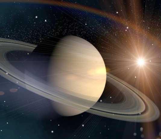 Planeta Saturn habitat