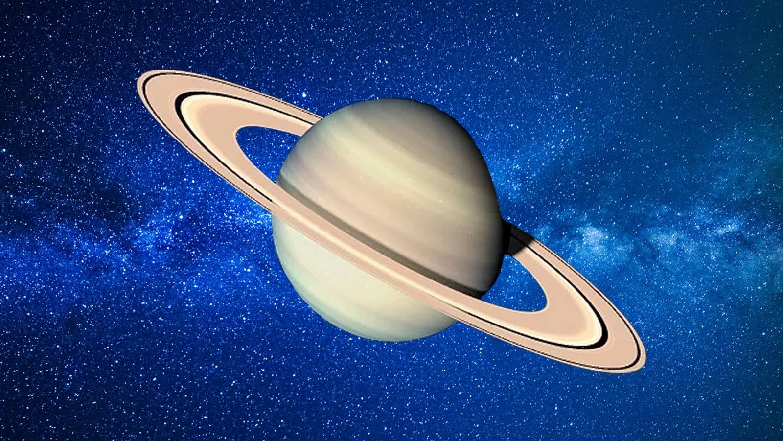 Planeta Saturn molecule