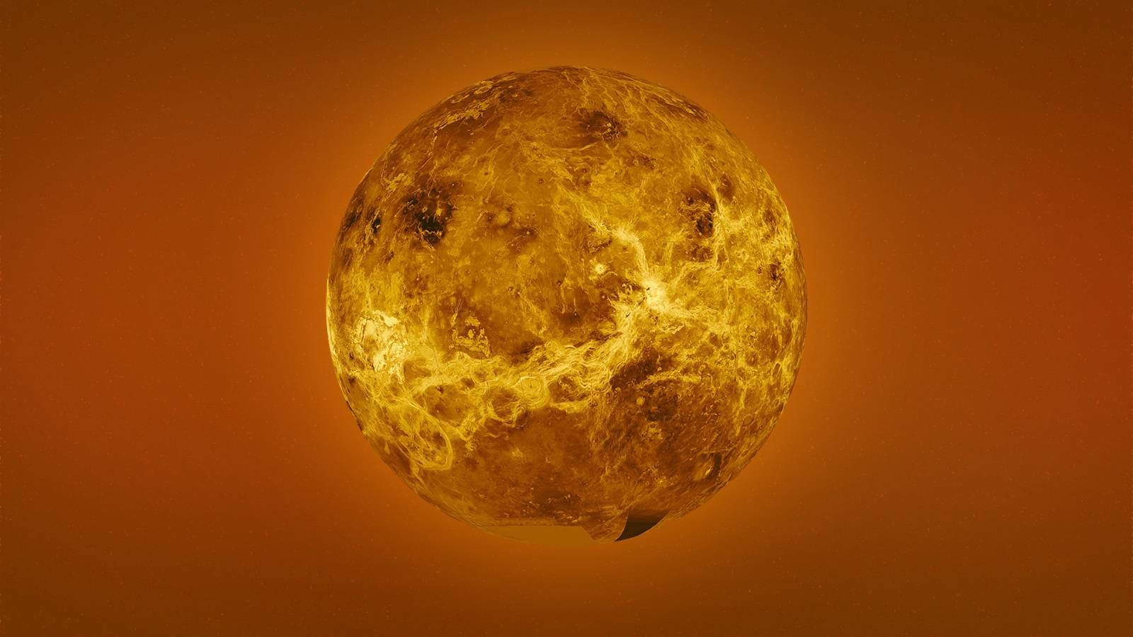 Planeta Venus apropiere