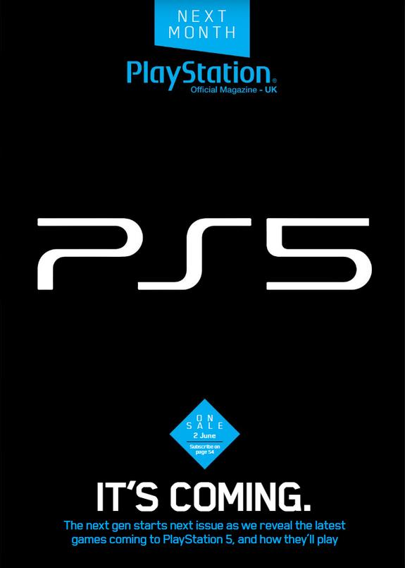 Playstation 5 revista design