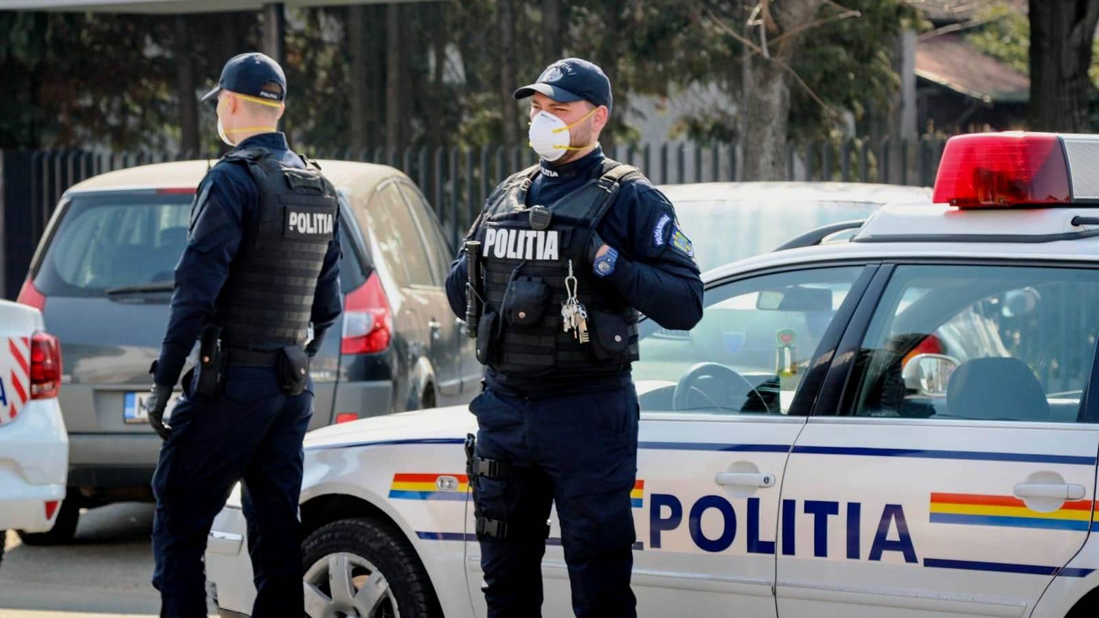 Politia Romana lumina paste